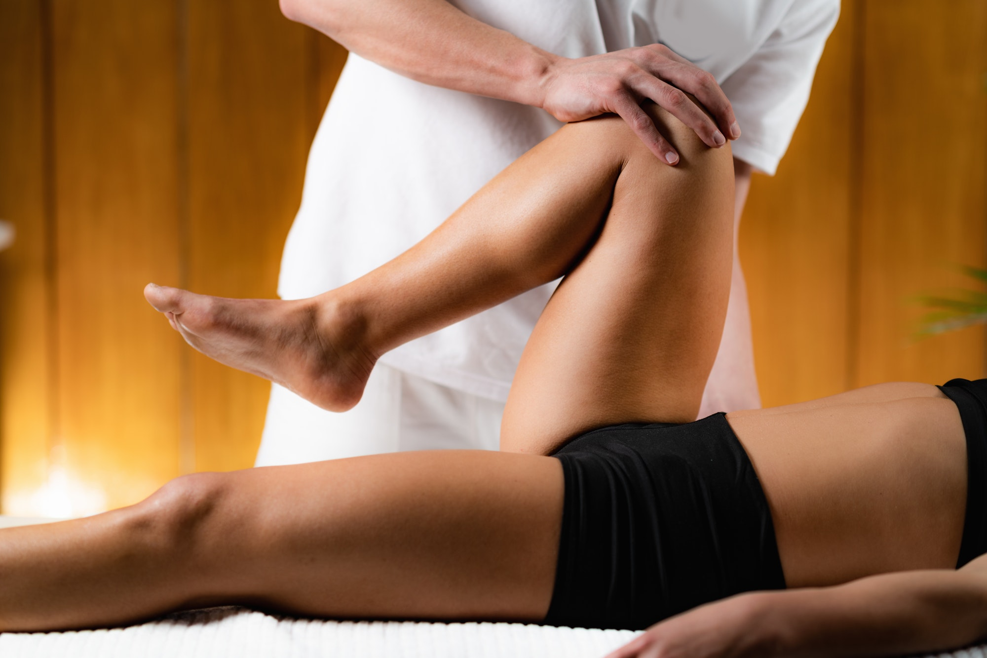 Osteopathy Leg Treatment